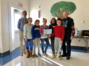 Cornwall Consolidated School Walk-A-Thon Raises  $1,814 for HVA