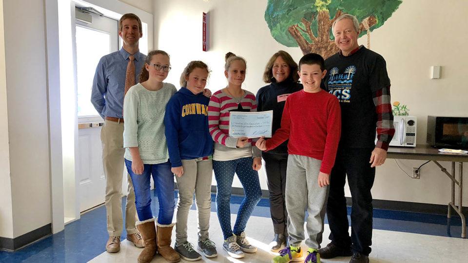 Cornwall Consolidated School Walk-A-Thon Raises  $1,814 for HVA