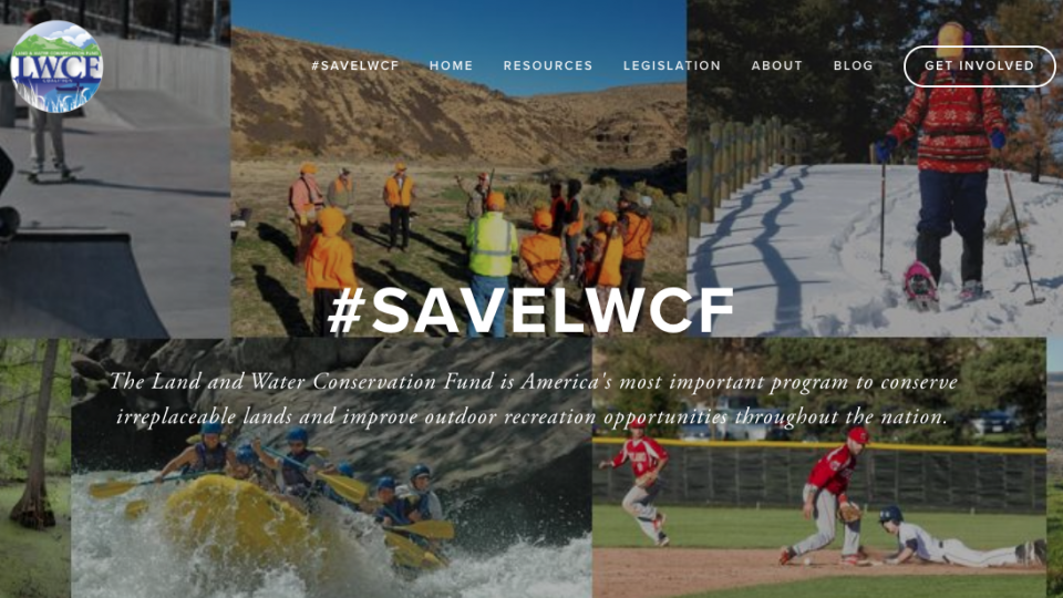 Act now to save the Land & Water Conservation Fund!