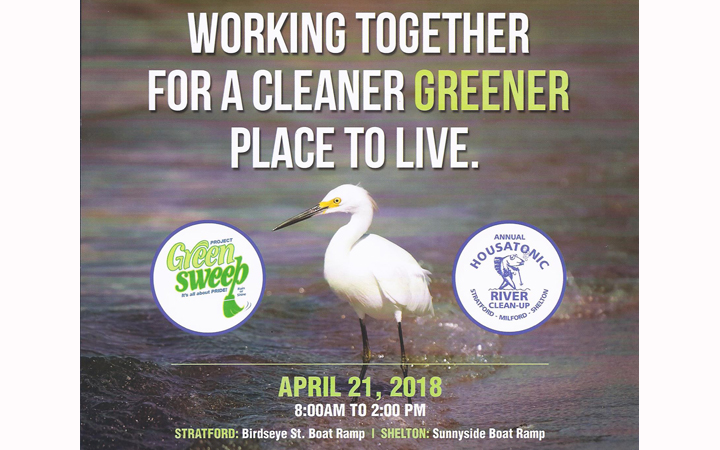 Housatonic River Cleanup scheduled for 4/21. Volunteers needed!