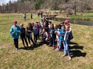 100+ Students and Volunteers Help Restore Salmon Creek