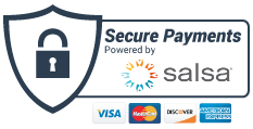 Powered by Salsa SecurePay
