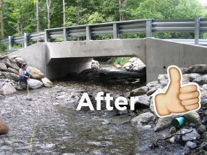 New culvert on Churchill Brook helps fish and reduces flood risks
